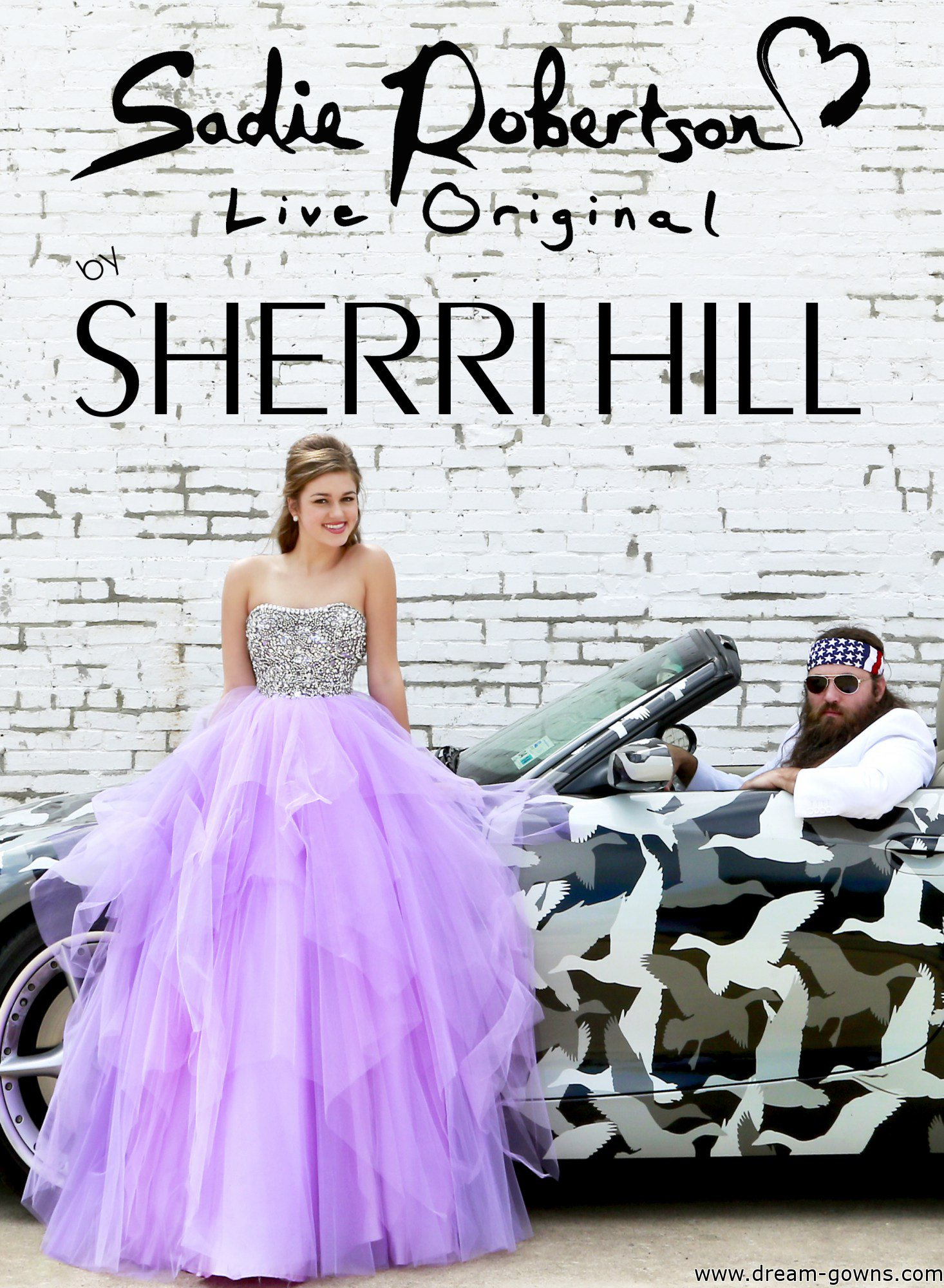 Sadie Robertson Live Original by Sherri Hill | Dream Gowns